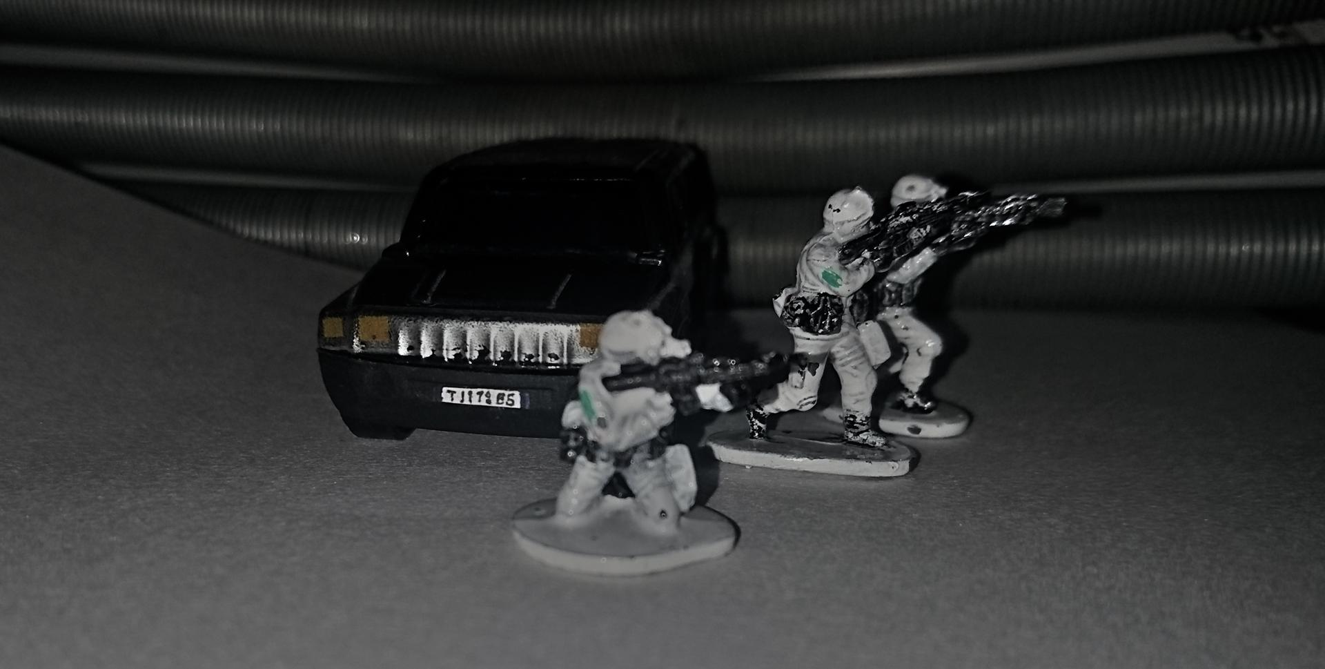 miniatures scene